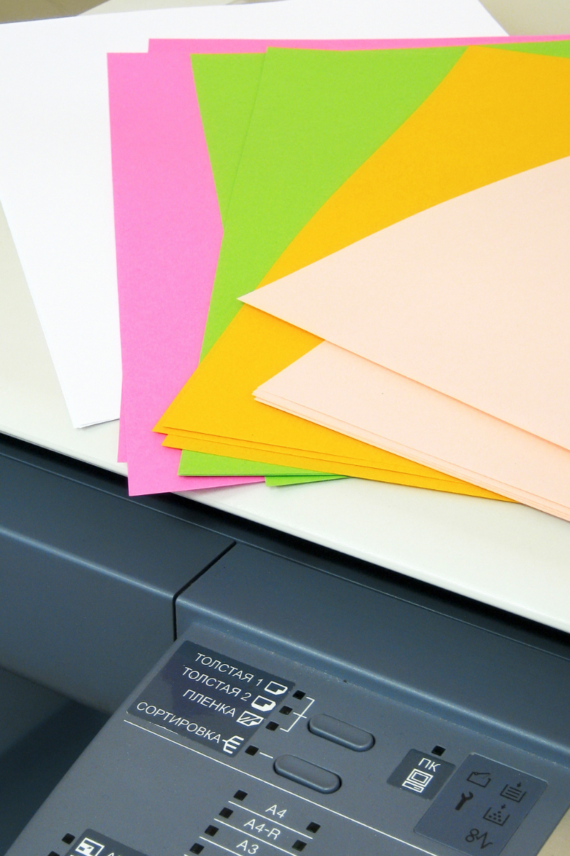 Farbige_Papierauswahl_Weyhe_Werbung